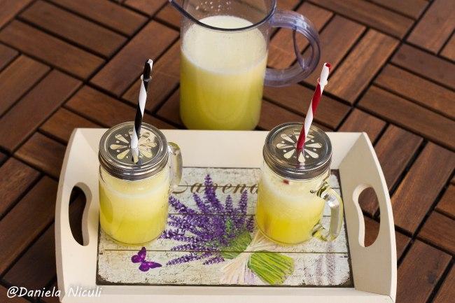 limonada cu ananas si ghimbir 1