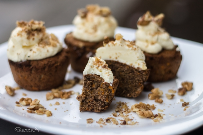 carrot cupcakes low carb